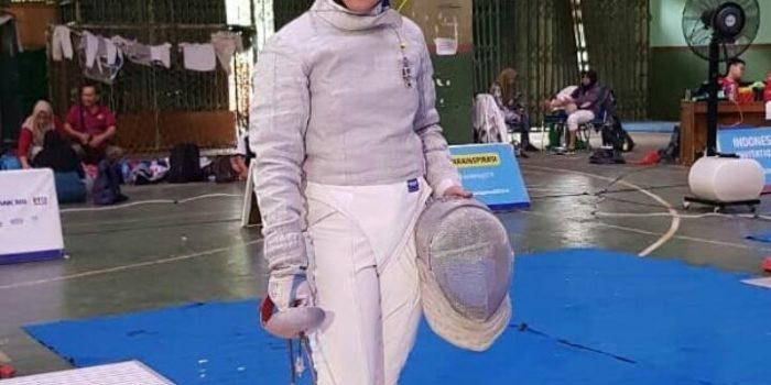 Novie Yurisna Peraih Juara 3 Kejuaraan Anggar