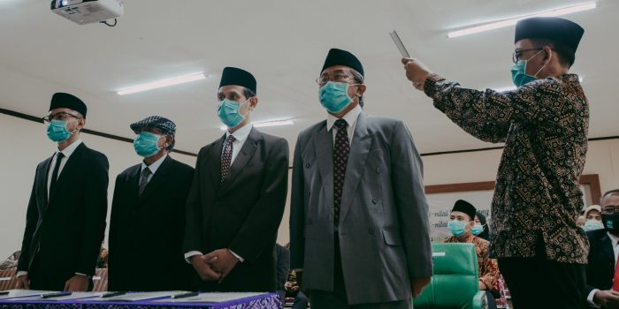 Pelantikan Rektor & Wakil Rektor Uninus Periode 2020-2024