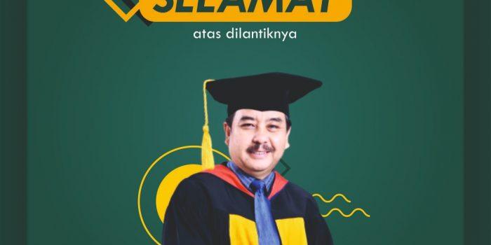 Prof. H. M. Solehuddin, M.Pd., M.A. Sebagai Rektor Universitas Pendidikan Indonesia Periode 2020-2025.