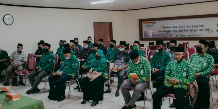 Pembekalan Calon Mahasiswa Baru Program Sekolah Pascasarjana S2-S3 Jalur Kerjasama Pergunu Jawa Barat.