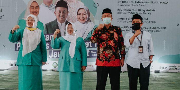 Penandatangan Nota Kesepahaman Antara Uninus Dengan Pengurus Wilayah Fatayat Nahdlatul Ulama Jawa Barat.
