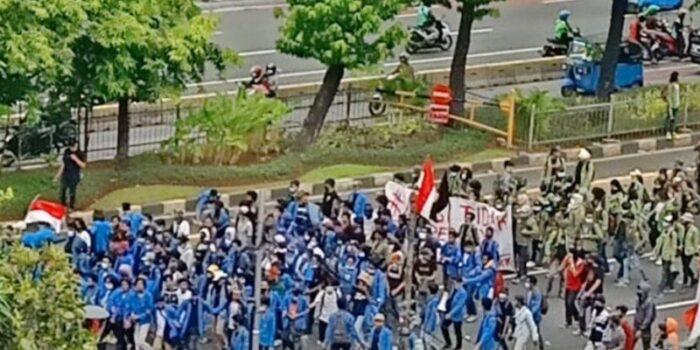 PMII Sayangkan Sikap Polisi Yang Represif Terkait Demo Tolak UU Cipta Kerja