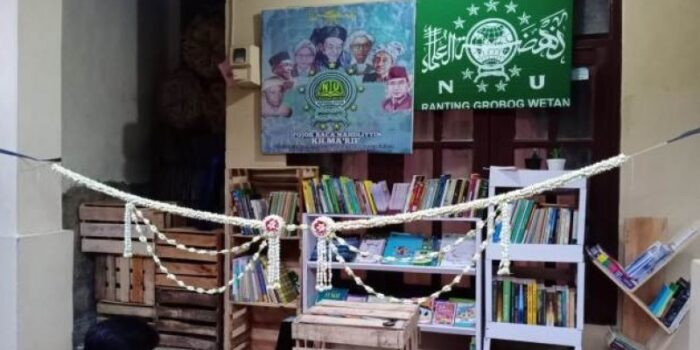 Pojok Baca Nahdliyin Hadir Di Grobog Wetan Tegal