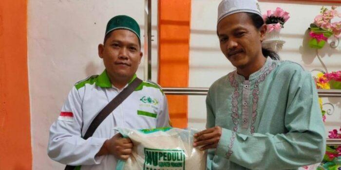 LAZISNU Pringsewu Bantu Beras Bagi 2.750 Guru Ngaji Dan Imam Yasin