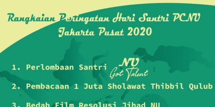 Hari Santri PCNU Jakpus Adakan Lomba Dan Bedah Film