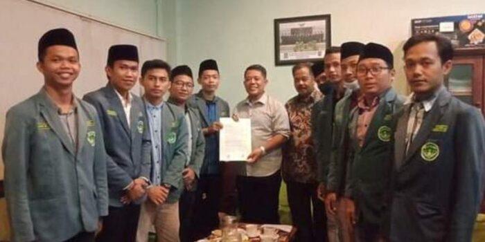 Tolak UU Cipta Kerja, IPNU Kabupaten Tegal Sampaikan Aspirasinya Ke DPRD