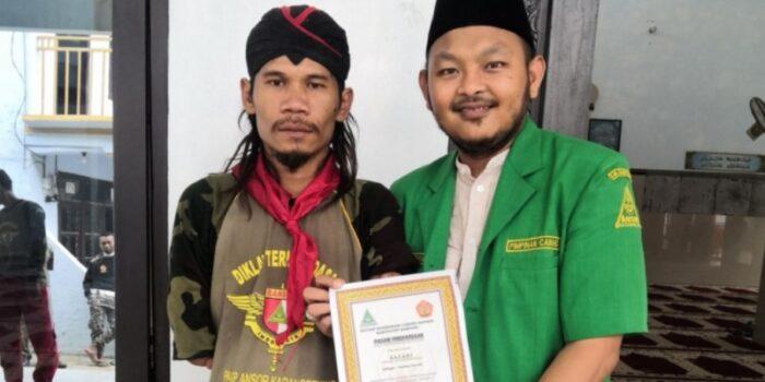 Keterbatasan Fisik Tidak Halangi Pemuda Bali Ikut Diklatsar Banser