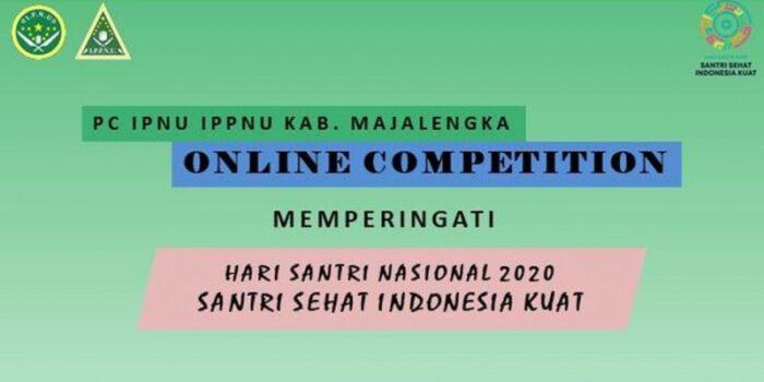 Peringati Hari Santri 2020, IPNU-IPPNU Majalengka Gelar Online Competition