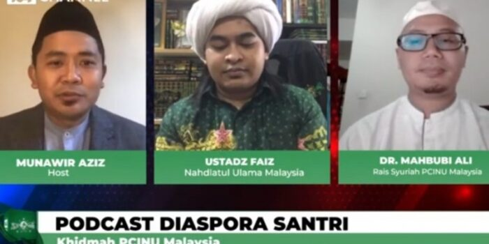 Podcast Diaspora Santri, Silaturahim PCINU Lintas Negara