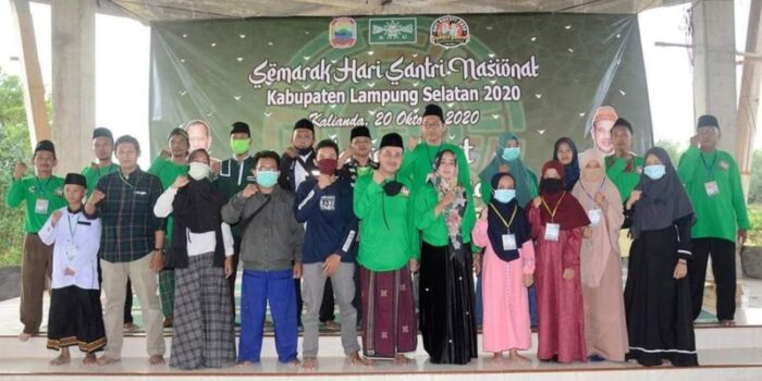 Semarak Hari Santri Lampung Selatan Di Tengah Pandemi Covid-19