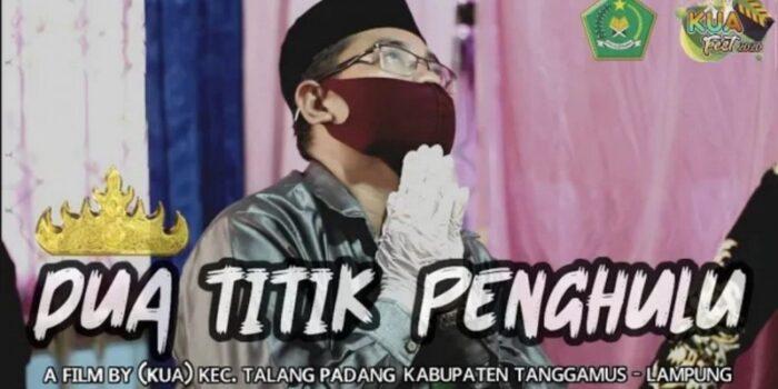 Ketua GP Ansor Tanggamus Raih Juara 1 Video Festival KUA Nasional