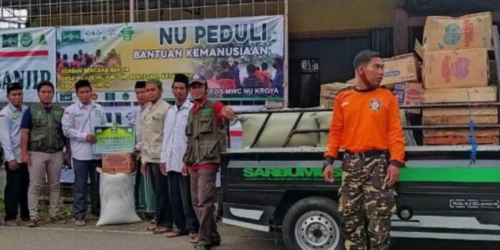 Nahdliyin Massifkan Bantuan Untuk Warga Terdampak Banjir Di Cilacap