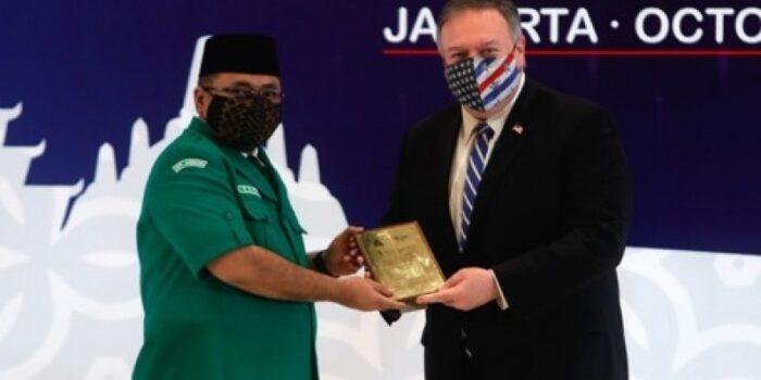 Di Hadapan Menlu AS, GP Ansor Tegaskan Islam Tidak Identik Dengan Teror