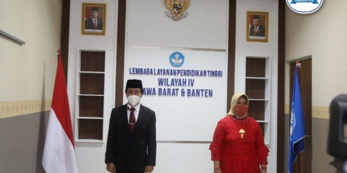 KEPALA DAN SEKRETARIS SELURUH INDONESIA RESMI DILANTIK – LLDIKTI Wilayah IV