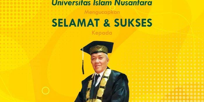 Civitas Akademika Uninus Mengucapkan Selamat & Sukses Kepada Prof. Dr. H. Purwad…