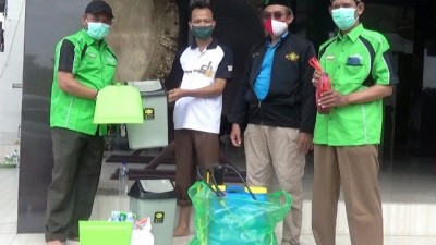Lewat BBM Berkah, Sejumlah Masjid Di Sidoarjo Diharap Bersih Dari Corona