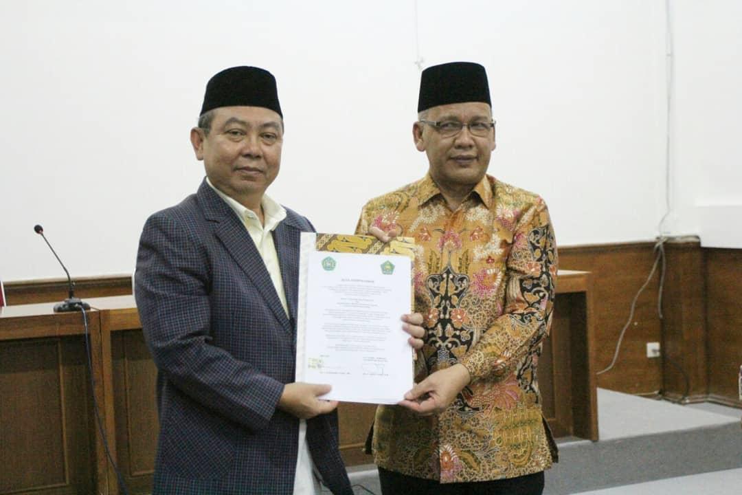 Penandatanganan Perjanjian Kerjasama Antara Universitas Islam Nusantara Dengan K…