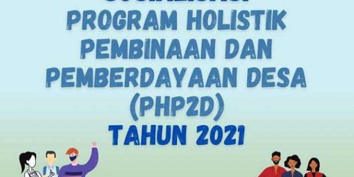 Undangan Sosialisasi PHP2D (Program Holistik Pembinaan Dan Pemberdayaan Desa) Tahun 2021 – LLDIKTI Wilayah IV