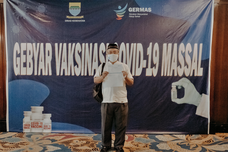 Pembukaan Vaksinasi Tahap Dua Di Lembaga Layanan Pendidikan Tinggi Wilayah IV