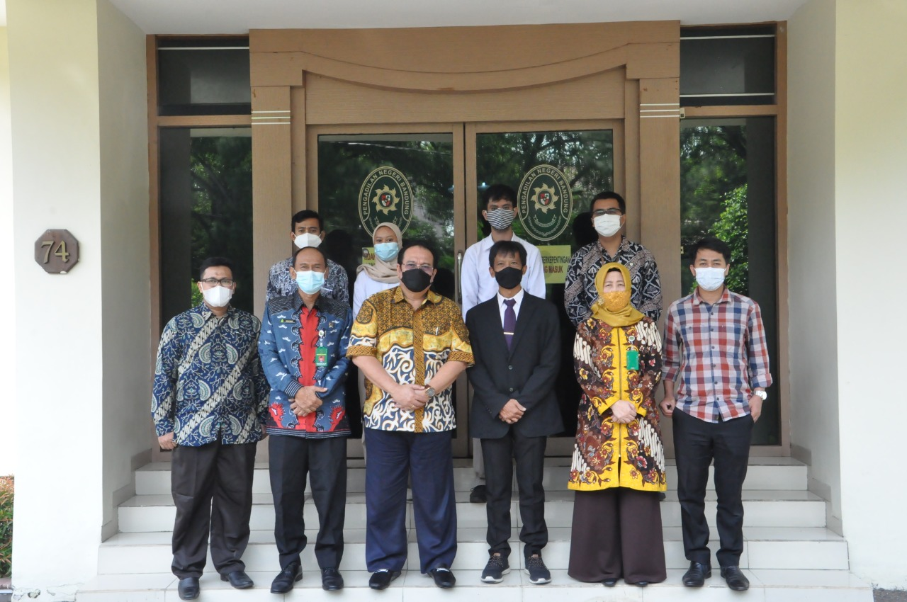 UNINUS Dan Pengadilan Negeri Bandung Melakukan Audiensi Guna Membahas Potensi Kerjasama