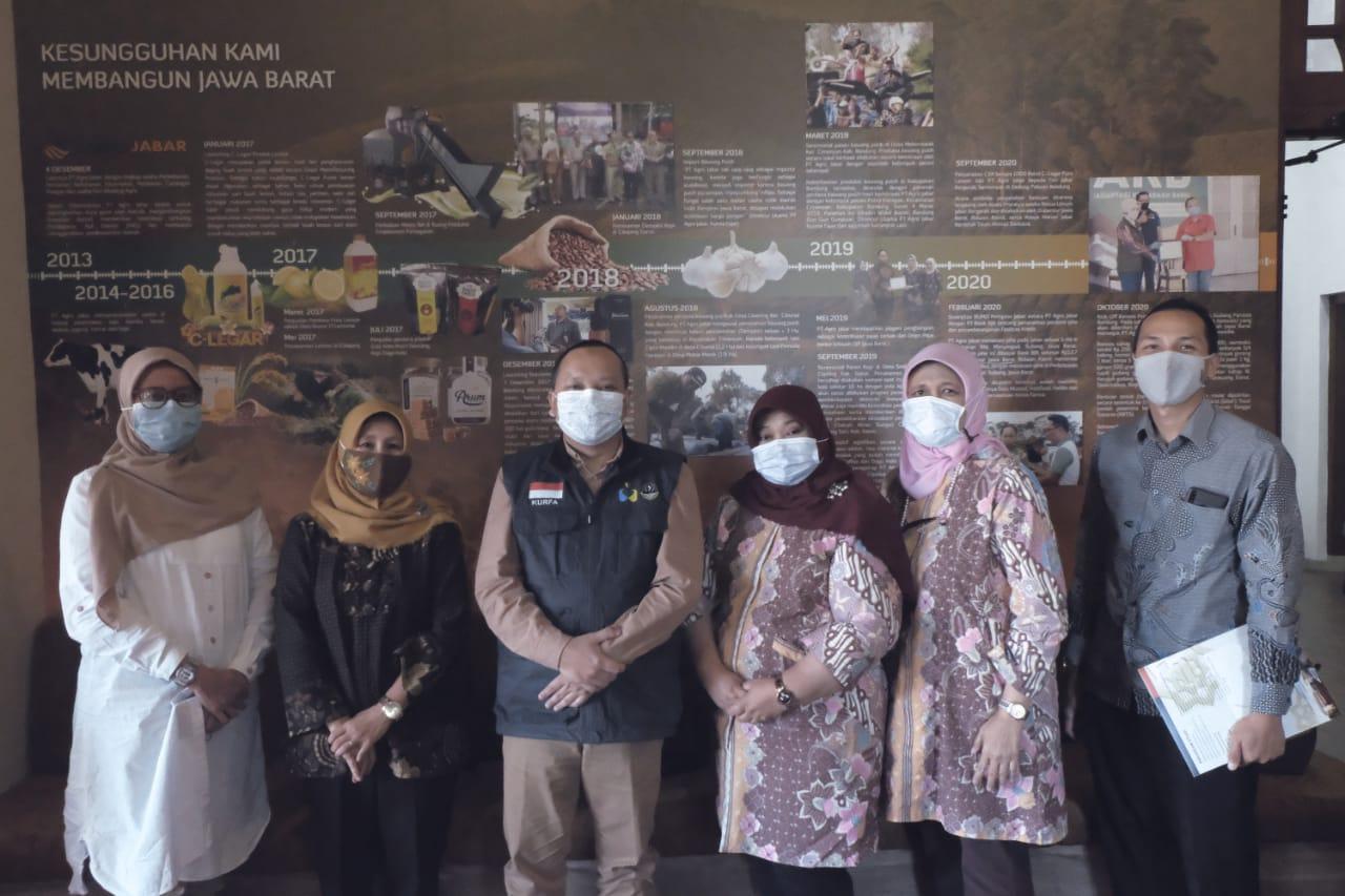 Universitas Islam Nusantara (Uninus) Melakukan Audiensi Dengan PT. Agro Jabar (Perseroda)