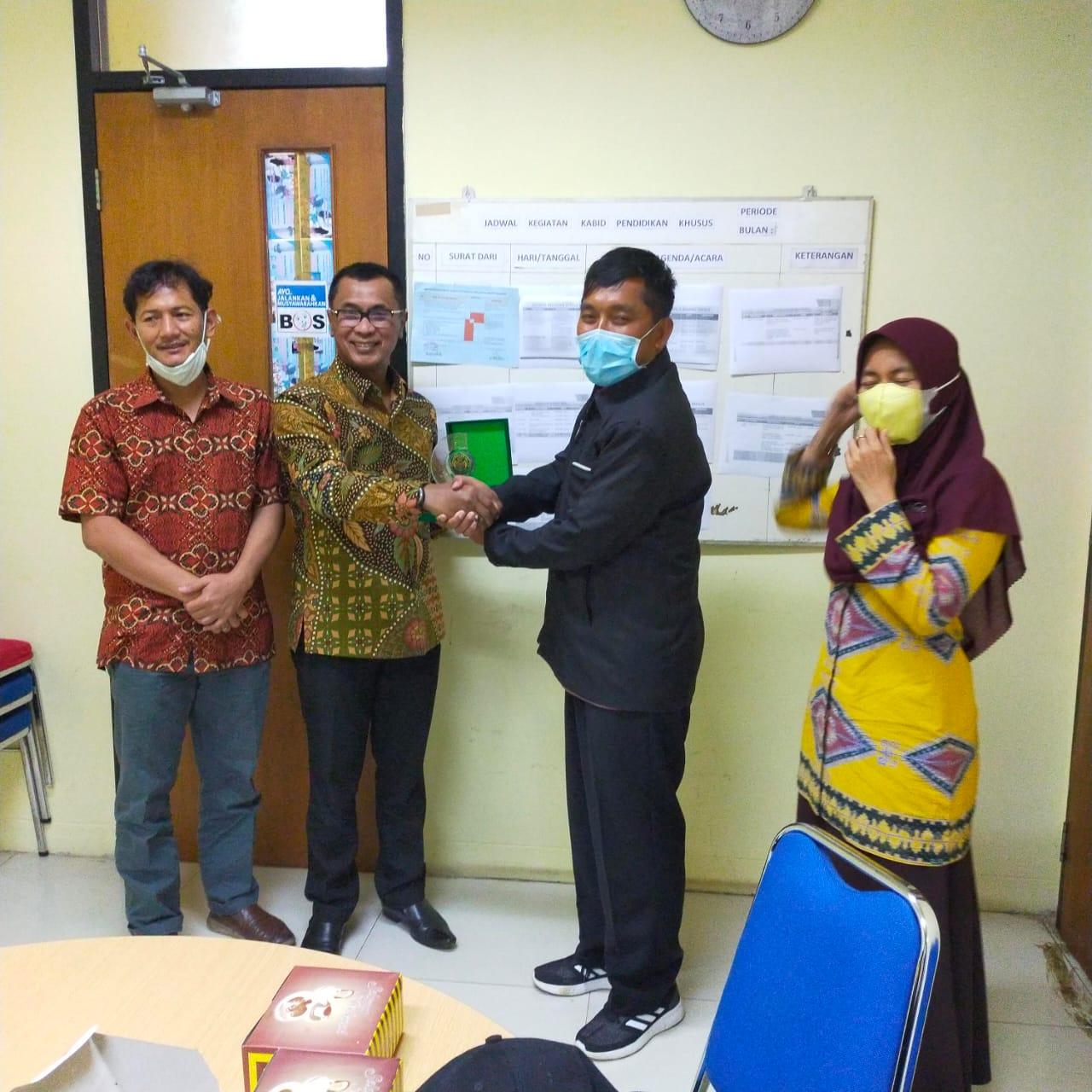 UNINUS Melakukan Audiensi Kerja Sama Dengan Bidang Pendidikan Khusus Dinas Pendidikan Dan Kebudayaan Provinsi Banten